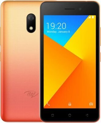 Itel A16 Plus DS Sunglow Gold